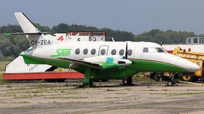 OY-ZEA - British Aerospace Jetstream 31 - Sair Salzburg Flugbetrieb