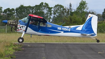 HK-1654-G - Cessna A185F Skywagon - Private