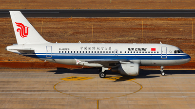 A picture of B6226 - Airbus A319115 - Air China - © PPengpeng