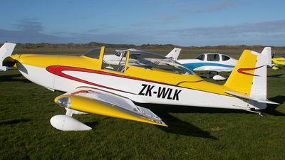 ZK-WLK - Vans RV-8 - Private