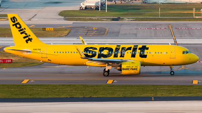 A picture of N907NK - Airbus A320271N - Spirit Airlines - © Hector Rivera - Puerto Rico Spotter