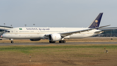 A picture of HZARB - Boeing 7879 Dreamliner - Saudia - © wanglp1988