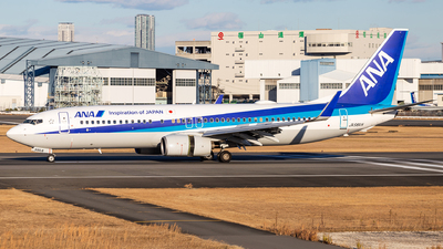 A picture of JA56AN - Boeing 737881 - All Nippon Airways - © LUSU