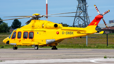 G-SNSK - Agusta-Westland AW-139 - Noordzee Helikopters Vlaanderen (NHV)