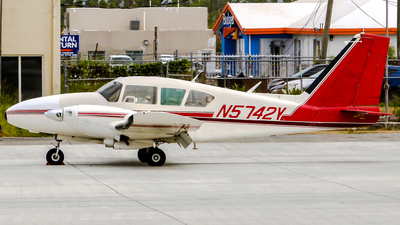 A picture of N5742Y - Piper PA23250 Aztec - [272867] - © Gary Guy