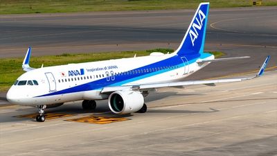 JA212A - Airbus A320-271N - All Nippon Airways (ANA)