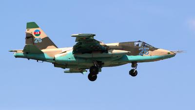 25 - Sukhoi Su-25BM Frogfoot - Azerbaijan - Air Force