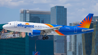 A picture of N296NV - Airbus A320214 - Allegiant Air - © Taxi_Way_