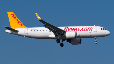 TC-NBN - Airbus A320-251N - Pegasus Airlines