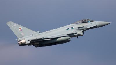 ZK363 - Eurofighter Typhoon FGR.4 - United Kingdom - Royal Air Force (RAF)