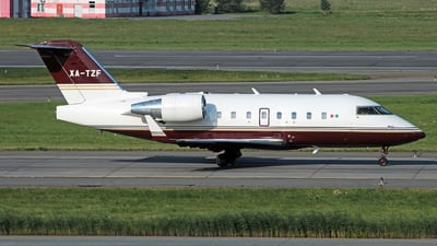 XA-TZF - Bombardier CL-600-2B16 Challenger 604 - Private