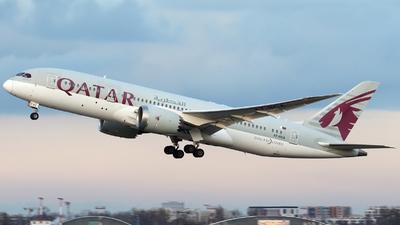 A picture of A7BCA - Boeing 7878 Dreamliner - Qatar Airways - © Pawel Cieplak