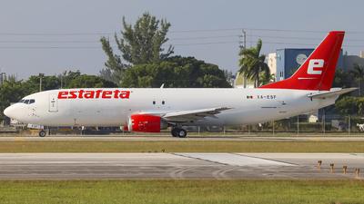 A picture of XAESF - Boeing 737490(SF) - Estafeta Carga Aerea - © Obed Diaz