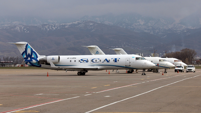 UP-CJ004 - Bombardier CRJ-200ER - Scat Air Company