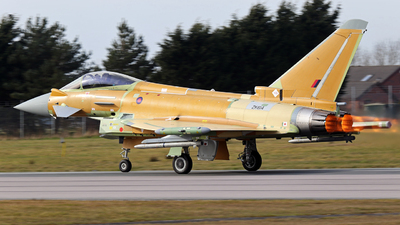 ZK614 - Eurofighter Typhoon EF2000 - United Kingdom - Royal Air Force (RAF)