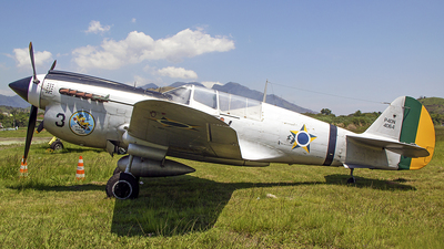 FAB4064 - Curtiss P-40N Warhawk - Brazil - Air Force
