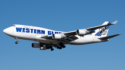 N356KD - Boeing 747-446(BCF) - Western Global Airlines