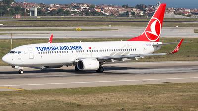 TC-JFZ - Boeing 737-8F2 - Turkish Airlines