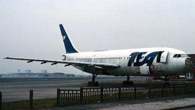 OO-TEF - Airbus A300B1 - TEA - Trans European Airways