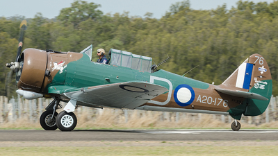 VH-WWY - CAC Wirraway - Bennet Aviation