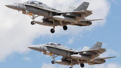CE.15-09 - McDonnell Douglas EF-18BM Hornet - Spain - Air Force