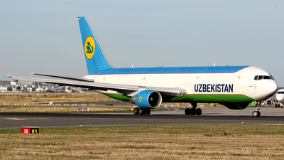 UK-67002 - Boeing 767-33P(ER)(BCF) - Uzbekistan Airways Cargo