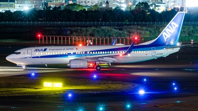A picture of JA72AN - Boeing 737881 - All Nippon Airways - © S Waki