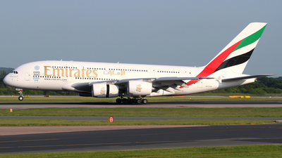 A6-EOR - Airbus A380-861 - Emirates