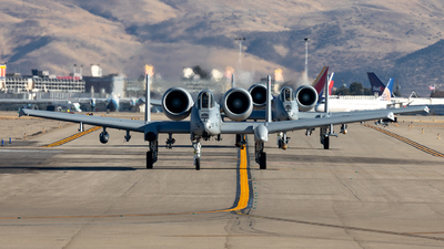 78-0707 - Fairchild A-10C Thunderbolt II - United States - US Air Force (USAF)