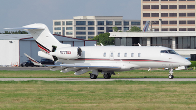 A picture of N771QS - Bombardier Challenger 350 - NetJets - © Matthew