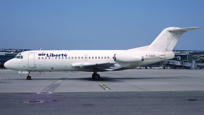 F-GDUT - Fokker F28-2000 Fellowship - Air Liberté