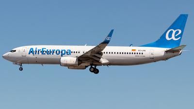 A picture of ECLPR - Boeing 73785P - Air Europa - © Rui Sequeira