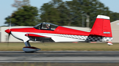 N241RV - Vans RV-7 - Private