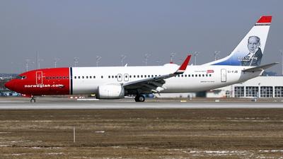 EI-FJB - Boeing 737-8JP - Norwegian