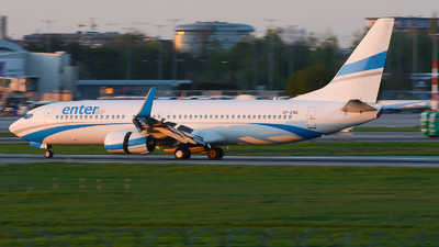 SP-ENQ - Boeing 737-85R - Enter Air