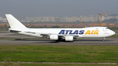 N859GT - Boeing 747-87UF - Atlas Air