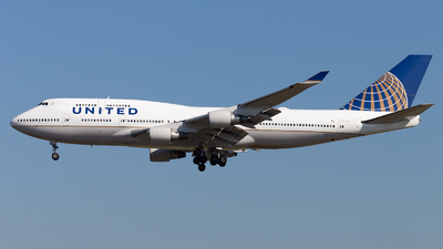 N174UA - Boeing 747-422 - United Airlines