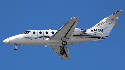 N385PB - Beechcraft 400A Beechjet - Private