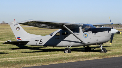 FAU715 - Cessna U206H Stationair - Uruguay - Air Force
