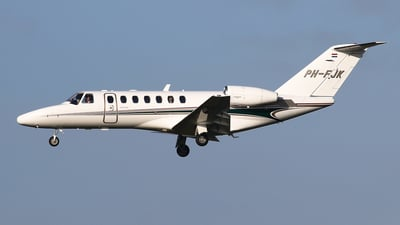 PH-FJK - Cessna 525B CitationJet 3 - Air Service Liège (ASL)