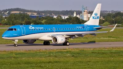 PH-EZZ - Embraer 190-100STD - KLM Cityhopper