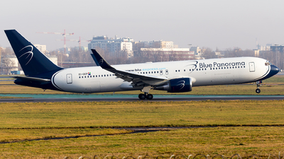 EI-GEP - Boeing 767-323(ER) - Blue Panorama Airlines