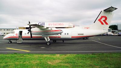 N285BC - Bombardier Dash 8-311 - Private