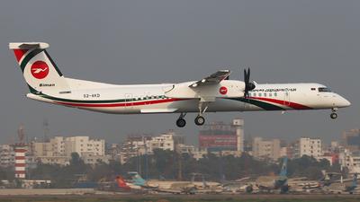 S2-AKD - De Havilland Canada Dash 8-402 - Biman Bangladesh Airlines
