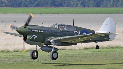 ZK-CAG - Curtiss P-40 Kittyhawk - Private