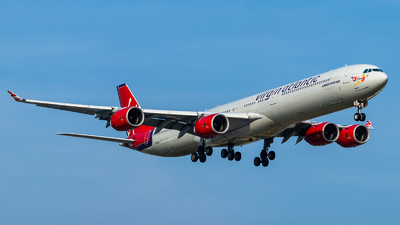 G-VFIZ - Airbus A340-642 - Virgin Atlantic Airways