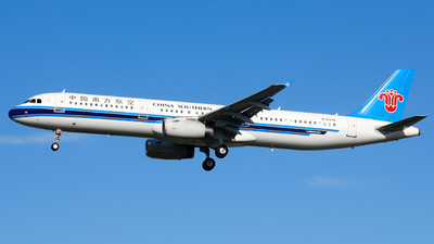 B-6378 - Airbus A321-231 - China Southern Airlines
