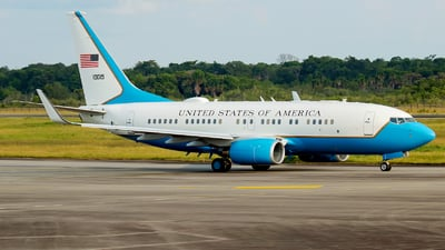 01-0015 - Boeing C-40B - United States - US Air Force (USAF)