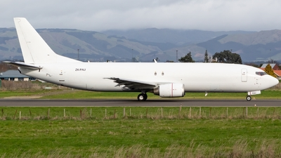 ZK-PAU - Boeing 737-4Q8(SF) - Airwork New Zealand