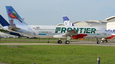 F-WWBU - Airbus A320-251N - Frontier Airlines